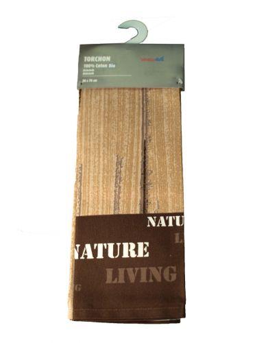 NATURE LIVING TEA TOWEL 50CMX70CM X6