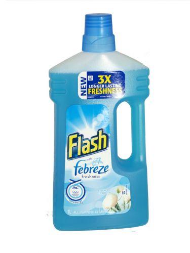 FLASH+FEBREZE ALL PURP 1L COTTON FRESH X6