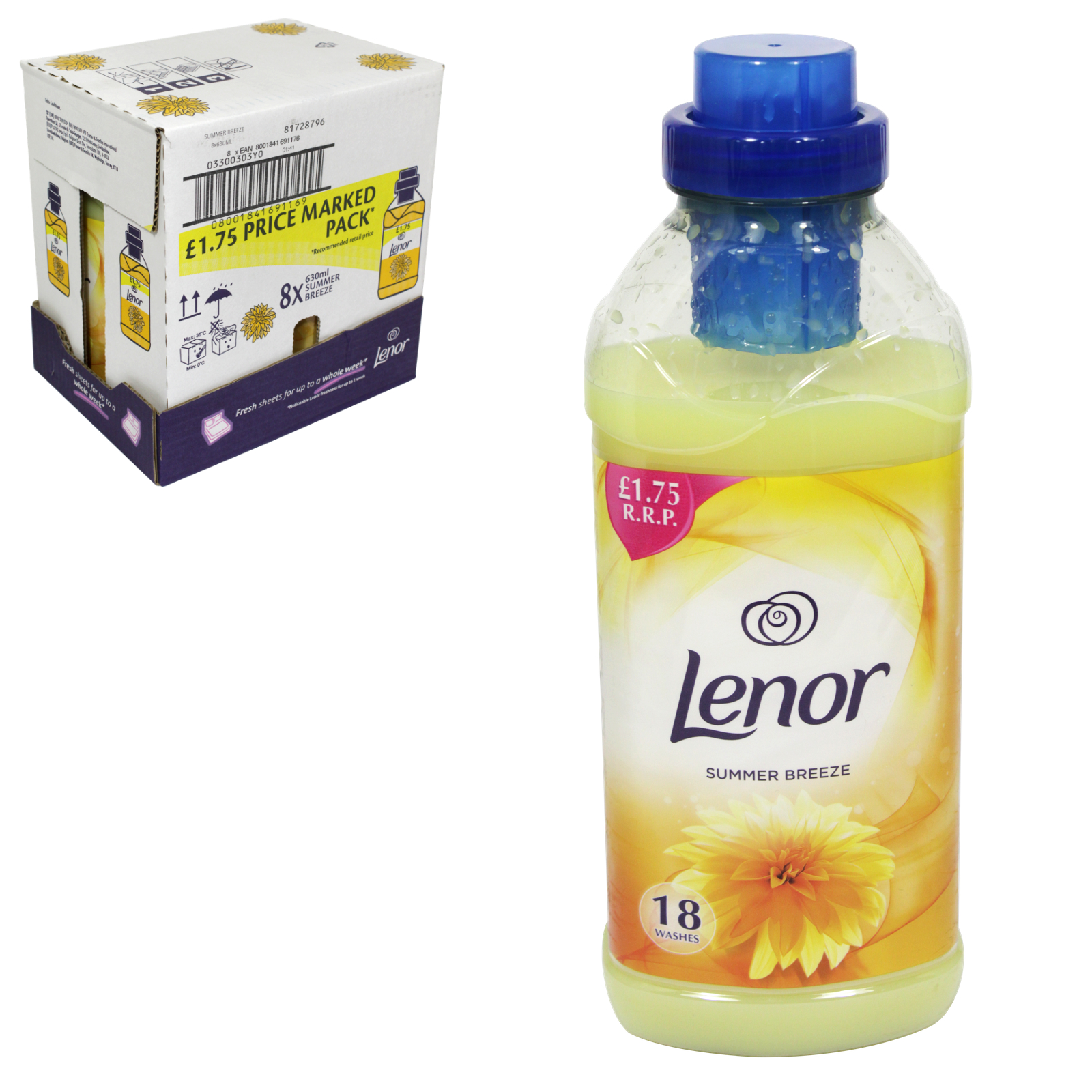 LENOR FABRIC CONCENTRATE 665ML PM?1.75 SUMMER BREEZE X8