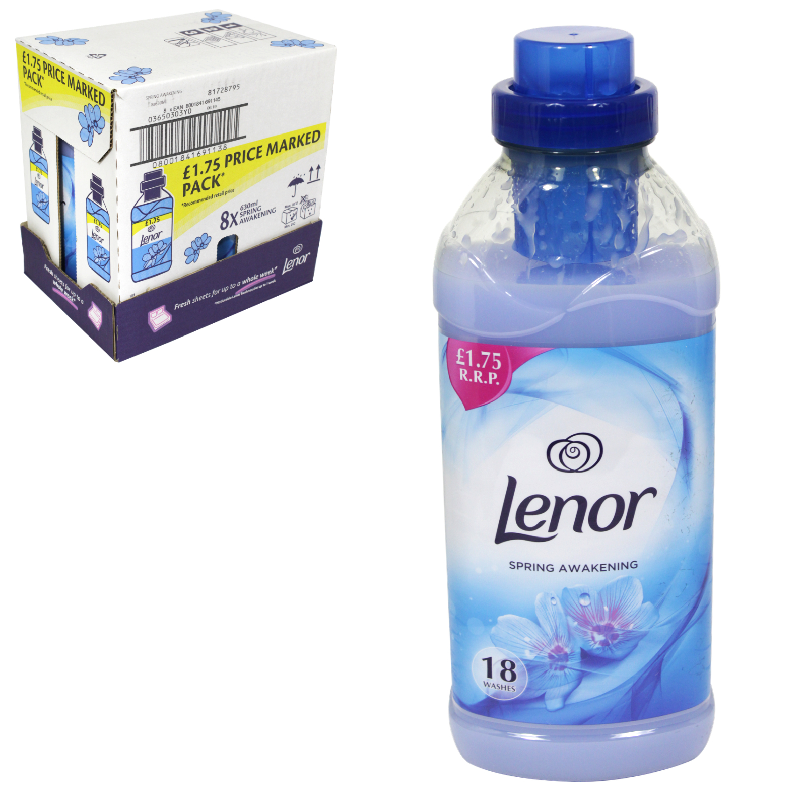 LENOR FABRIC CONCENTRATE 665ML PM?1.75 SPRING AWAKENING X8