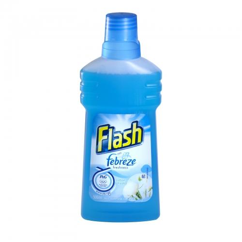 FLASH+FEBREZE ALL PURPOSE LIQUID 500ML COTTON FRESH PM
