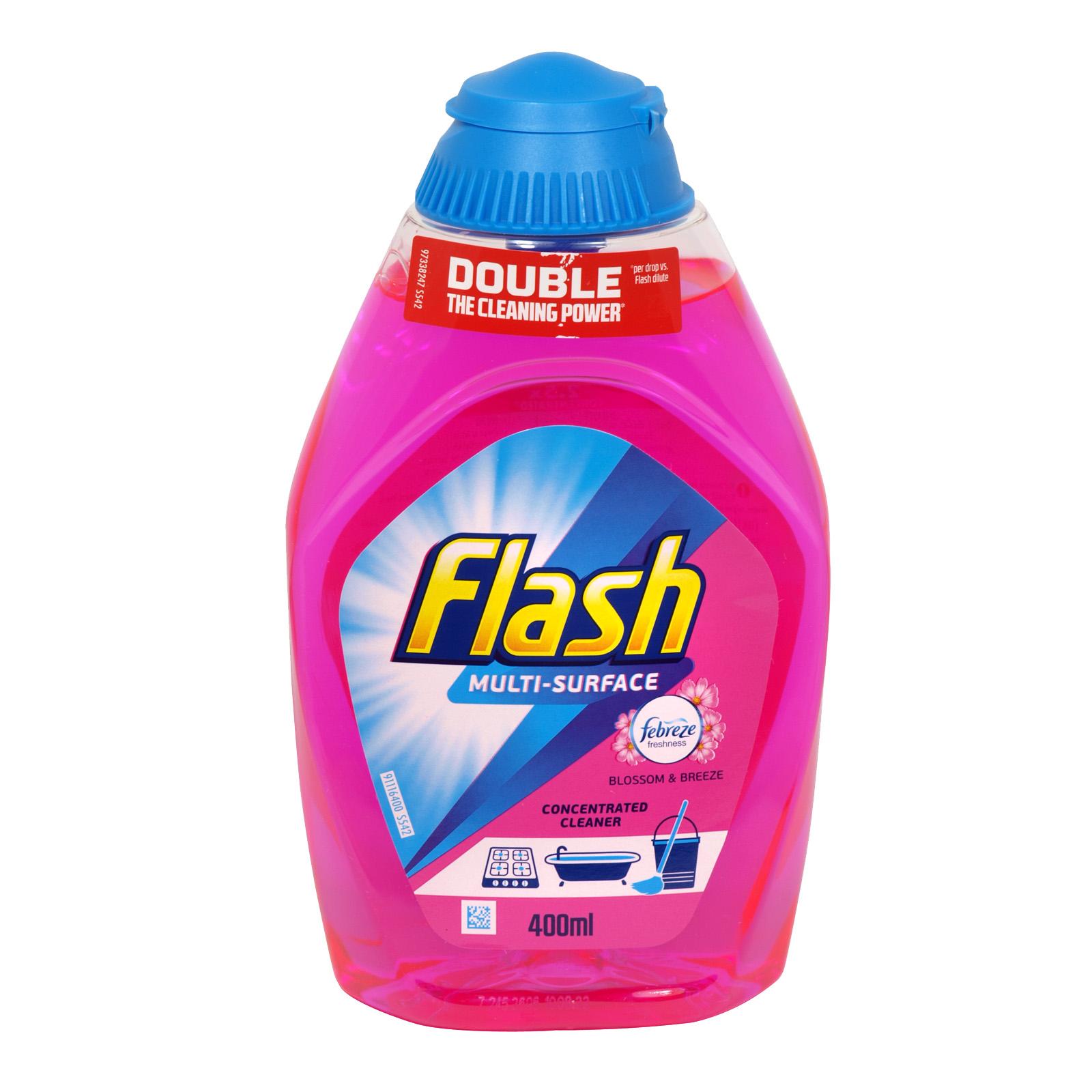 FLASH LIQUID GEL 400ML BLOSSOM BREEZE X10