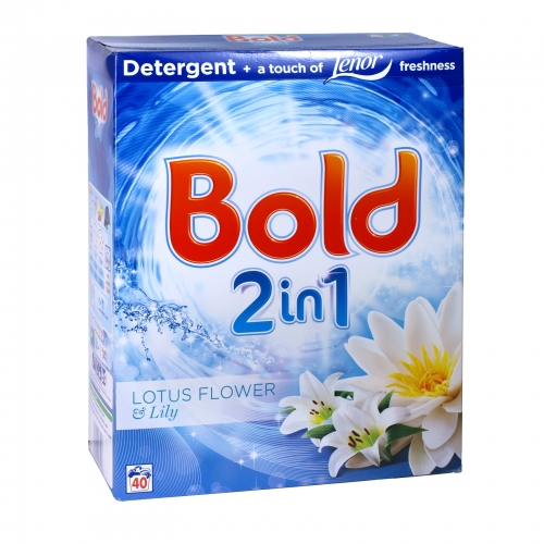 BOLD POWDER 40 WASH LOTUS FLOWER+LILY X4