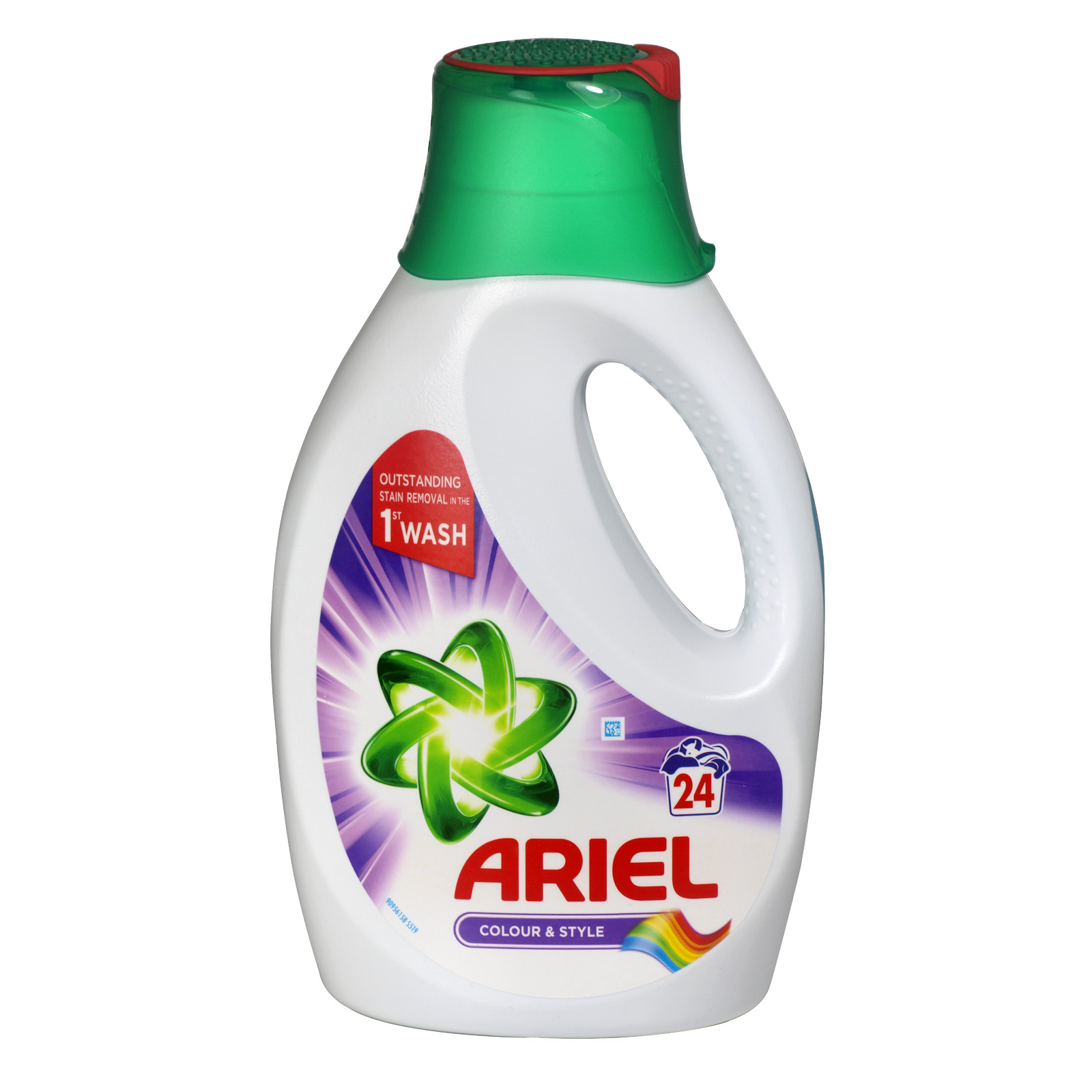 ARIEL LIQUID 24 WASH COLOUR X3