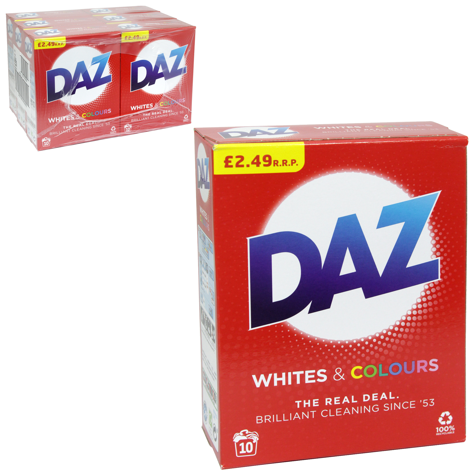 DAZ POWDER 10 WASH PM?2.49 REGULAR X6