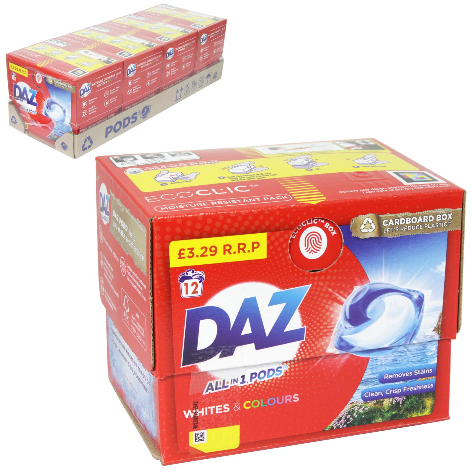 DAZ GO PODS 12 WASH PM