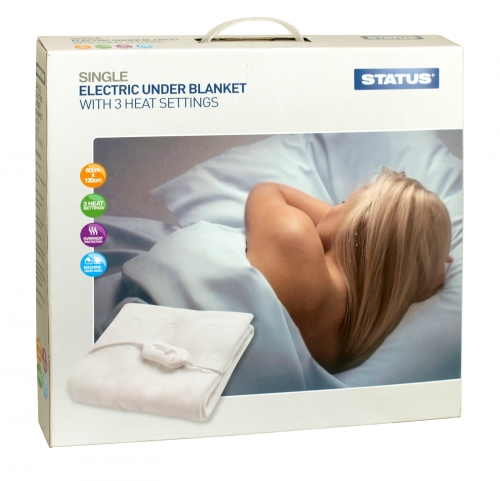 STATUS ELECTRIC UNDER BLANKET SINGLE 40W