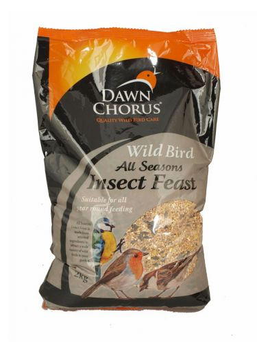 DAWN CHORUS INSECT+MEALWORM FEAST 2 X6