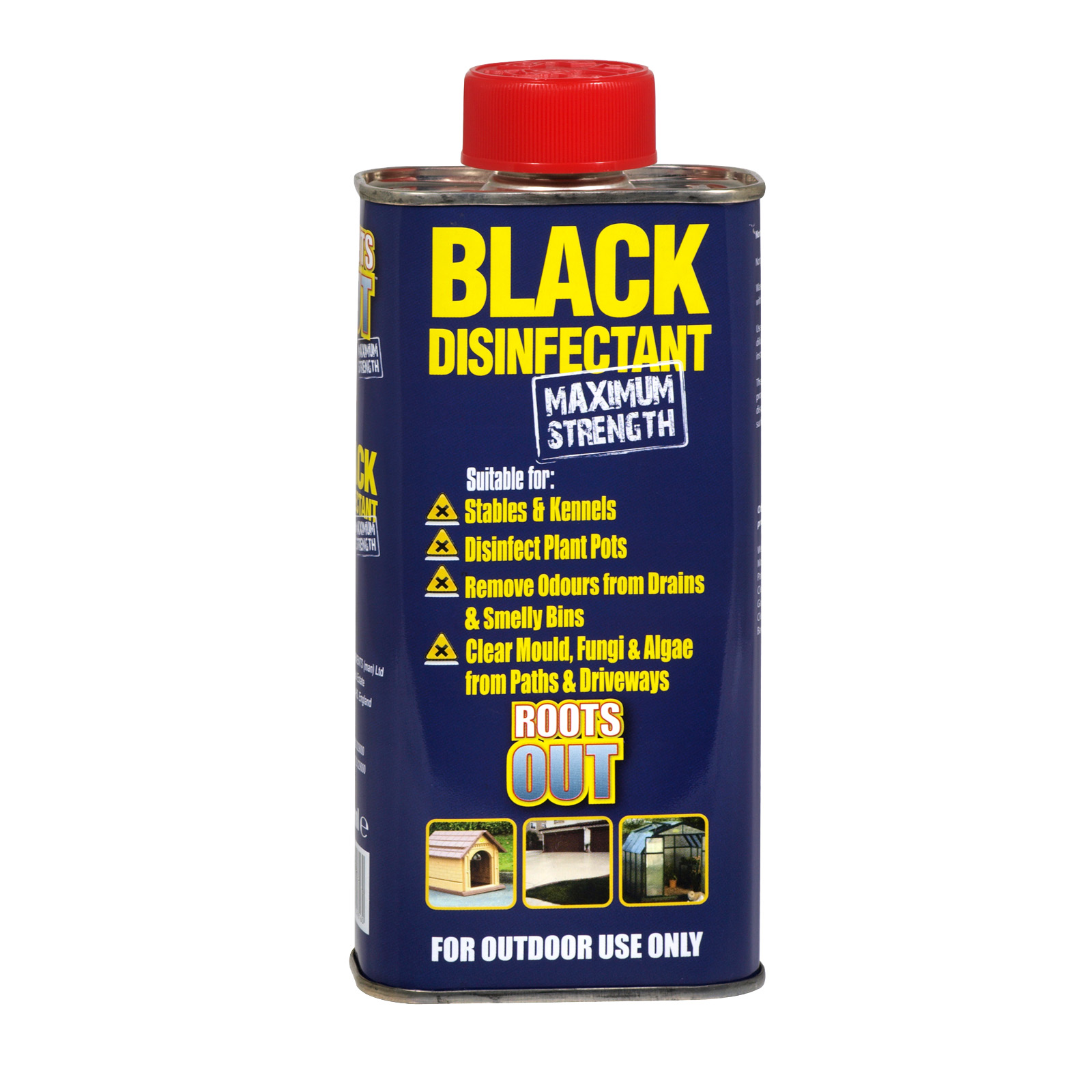 BLACK DISINFECTANT MAX STRENGTH 300ML X6
