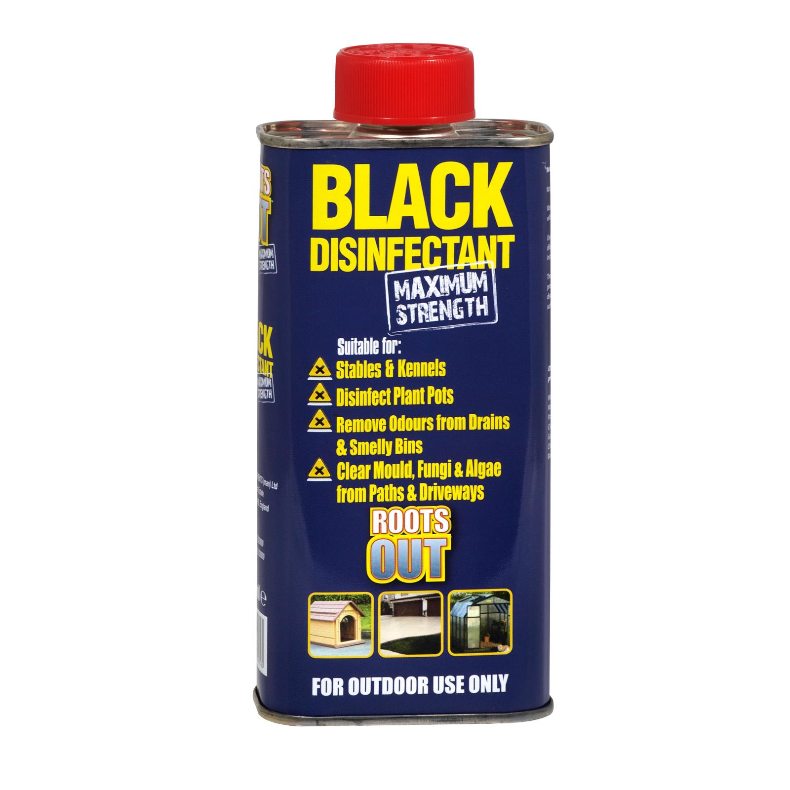 BLACK DISINFECTANT MAX STRENGTH 300ML X18