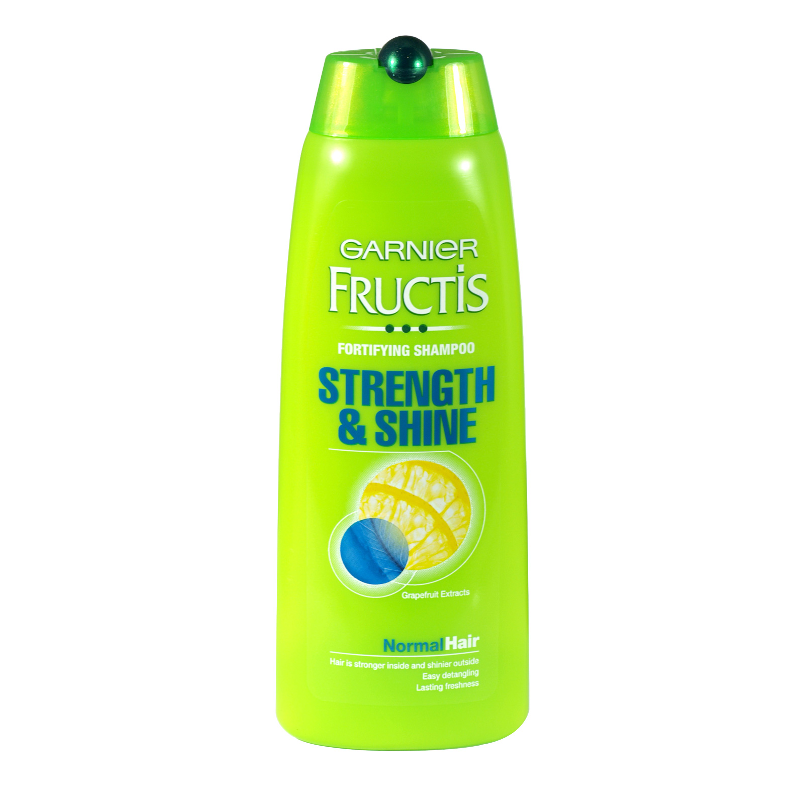 GARNIER FRUCTIS SHAMPOO 250ML STRENGTH+SHINE NORMAL X6