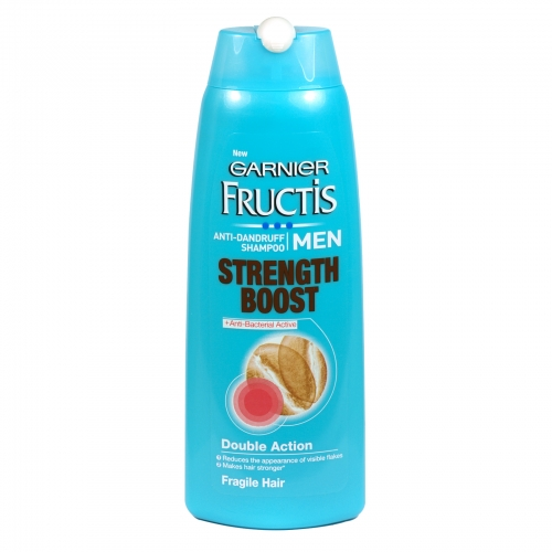 GARNIER FRUCTIS SHAMPOO 250ML ANTI-DANDRUFF FOR MEN STRENGTH BOOST X6