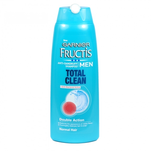 GARNIER FRUCTIS SHAMPOO 250ML ANTI-DANDRUFF FOR MEN TOTAL CLEAN X6