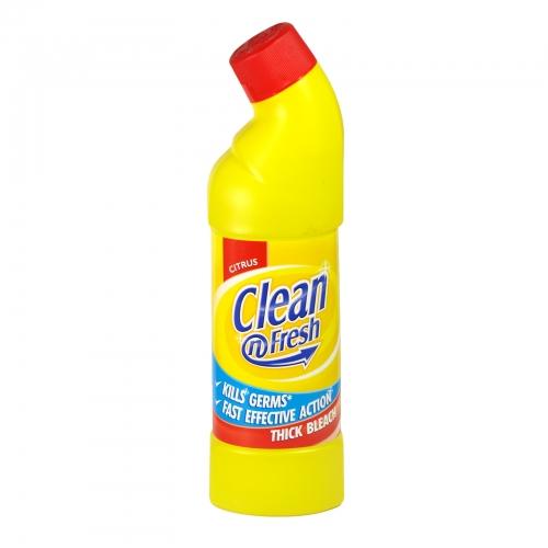 CLEAN+FRESH 750ML THICK BLEACH CITRUS X12