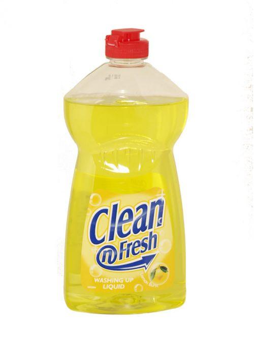 CLEAN+FRESH WASH UP 500ML LEMON BURST X12