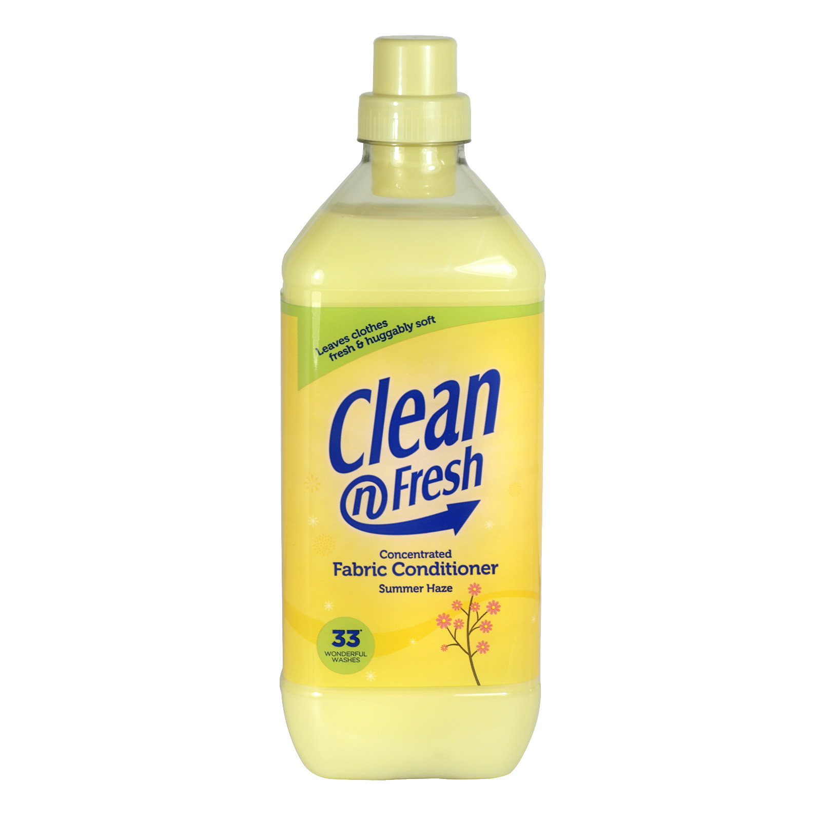 CLEAN+FRESH FAB CONC 1L SUMMER HAZE X8