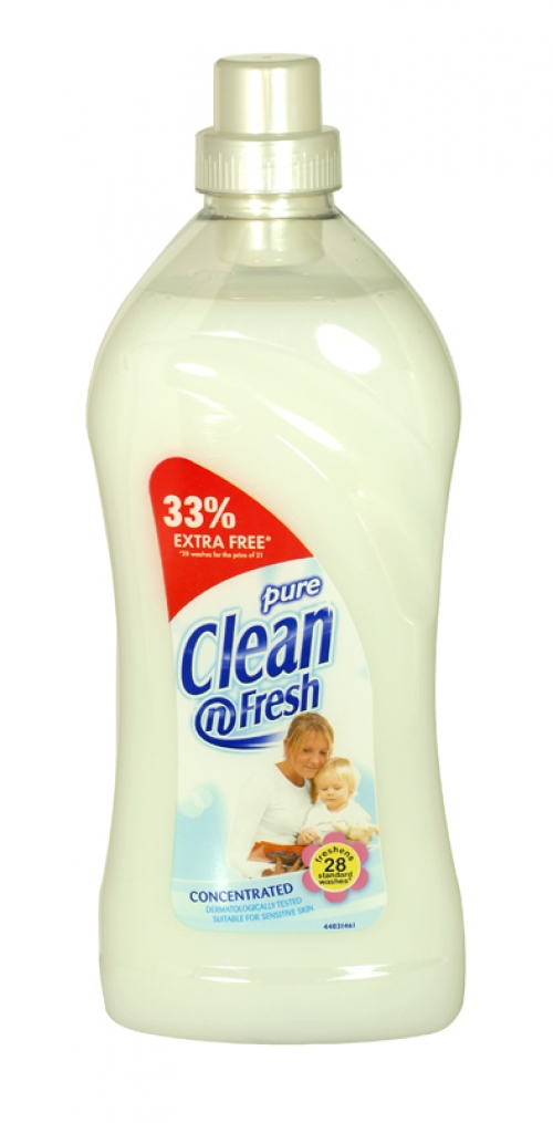 CLEAN+FRESH FAB CONC 1L PURE X8