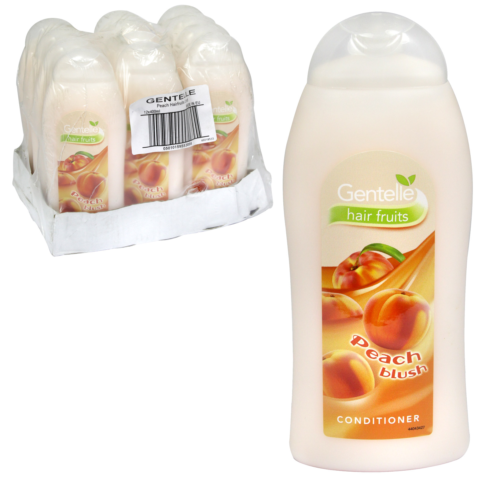 GENTELLE CONDITIONER 400ML PEACH BLUSH X12