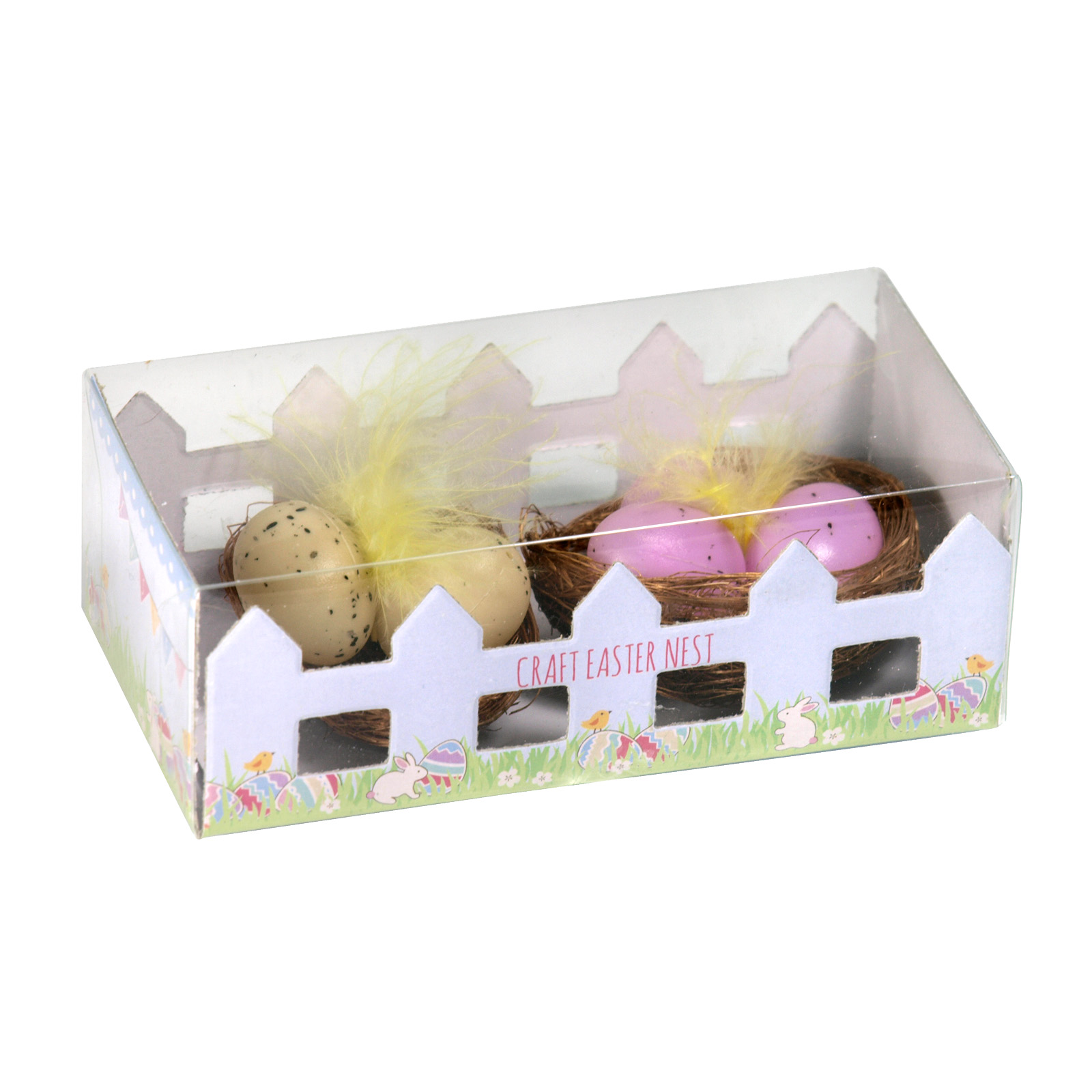 EASTER EGG NESTS 2PKX5CM X12