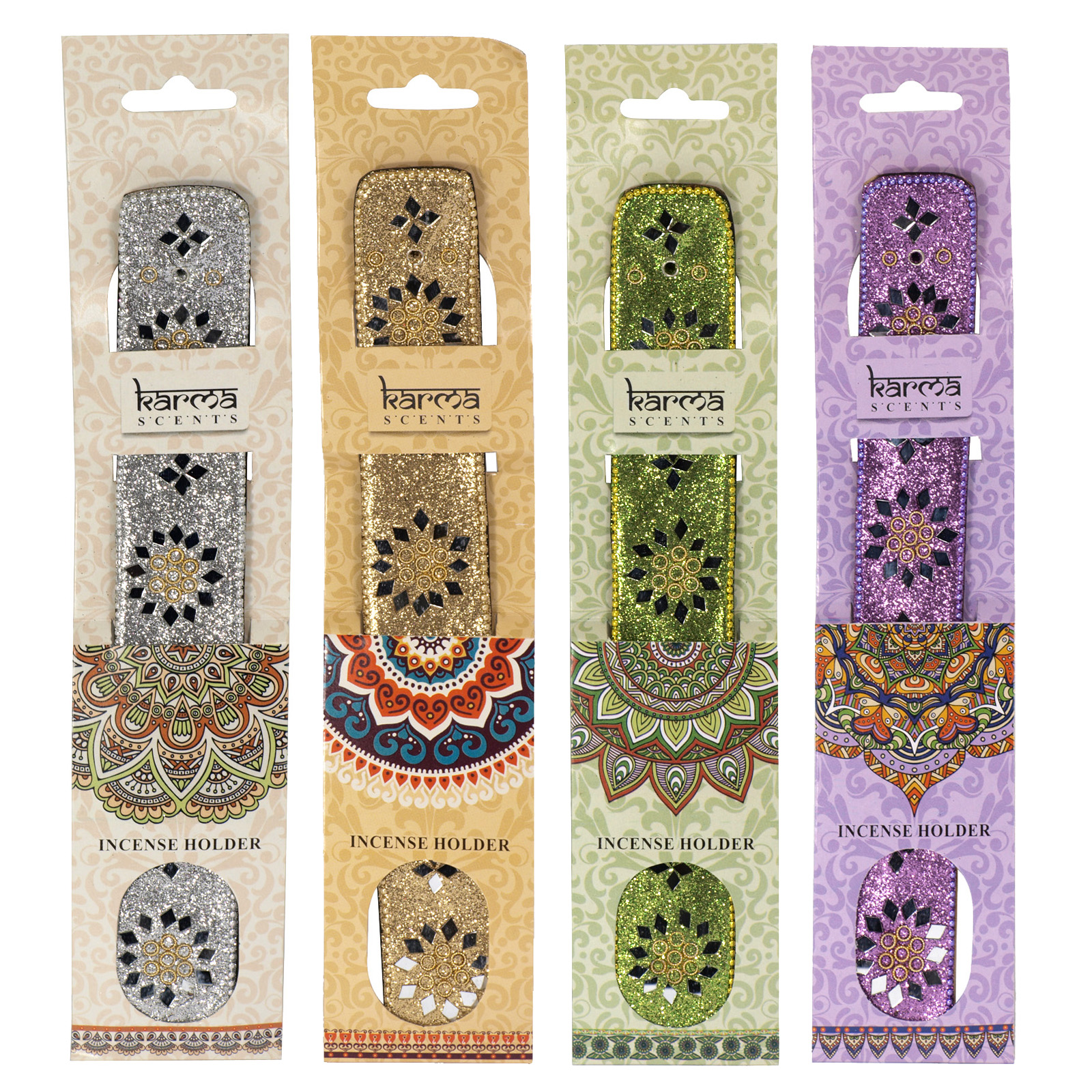 SIL KARMA SCENTS INCENSE HOLDER X12