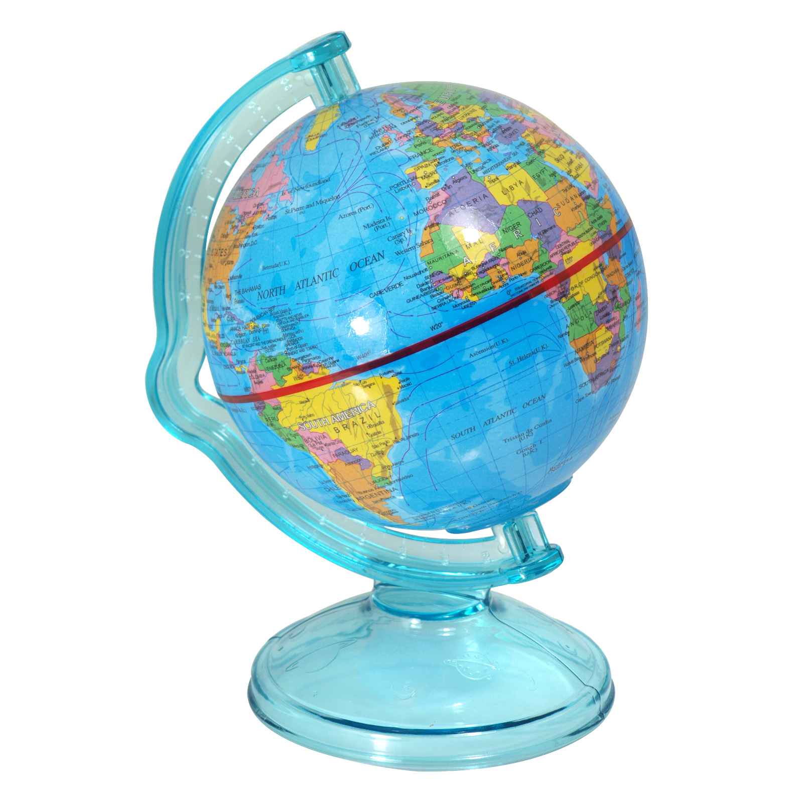 SIL MONEY BOX GLOBE 12CMX16CM