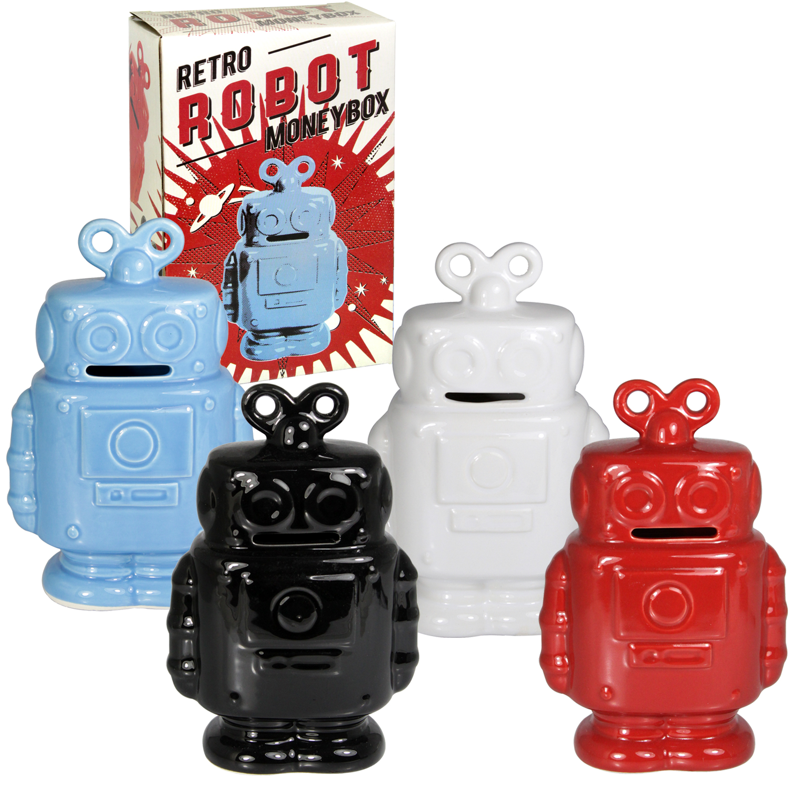 SIL MONEY BOX ROBOT 16CMX10CM