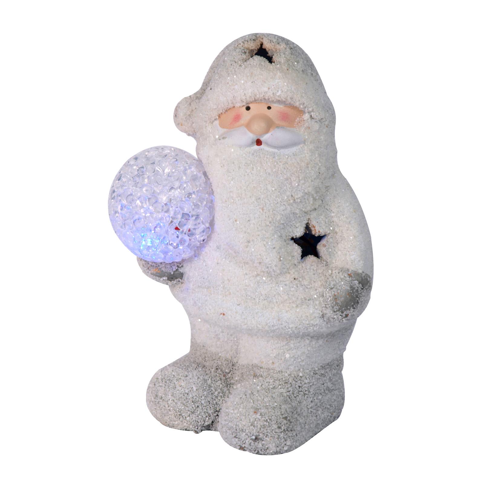 X-MAS SNOWMAN+LED SNOWBALL STANDING
