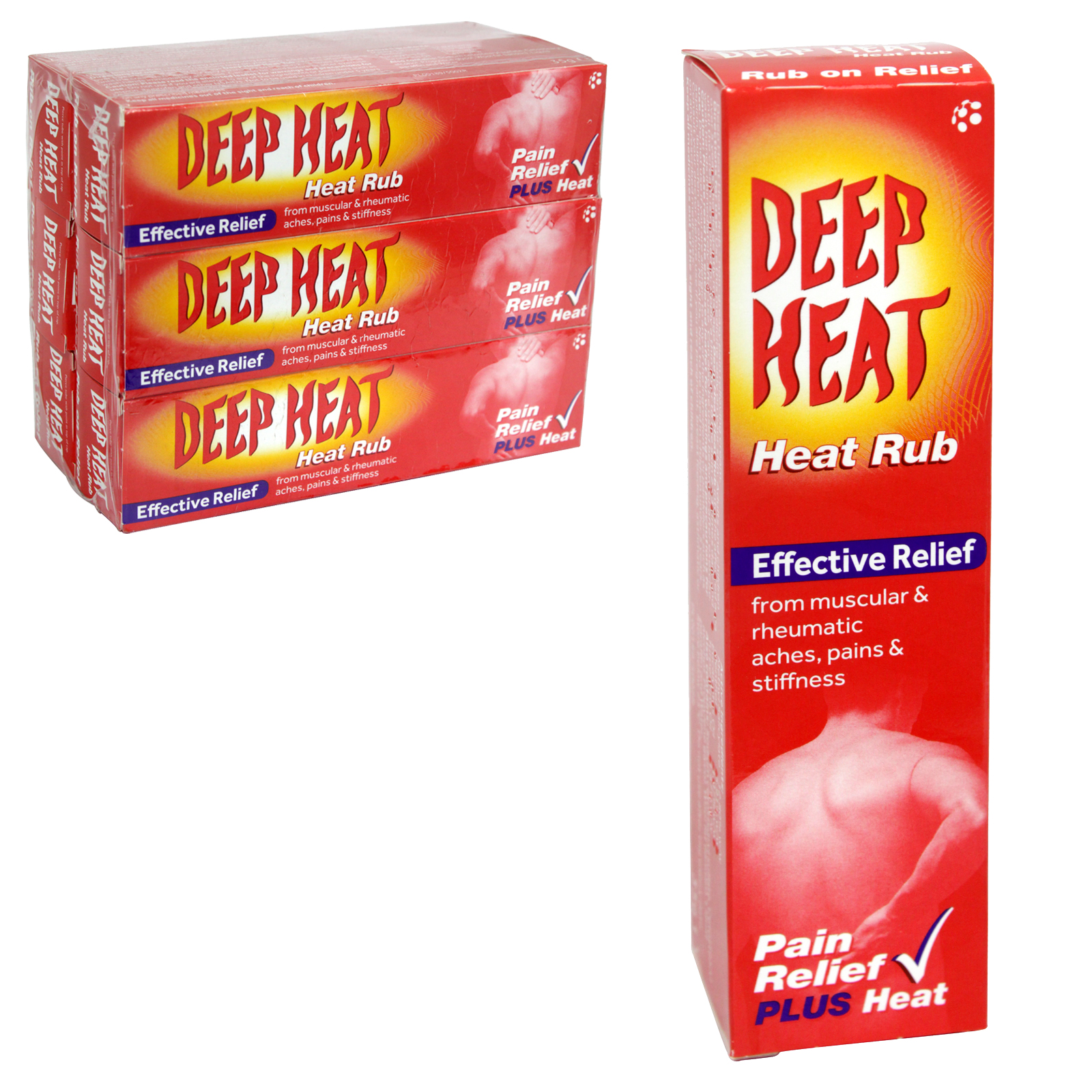DEEP HEAT RUB 35GM TUBE X6