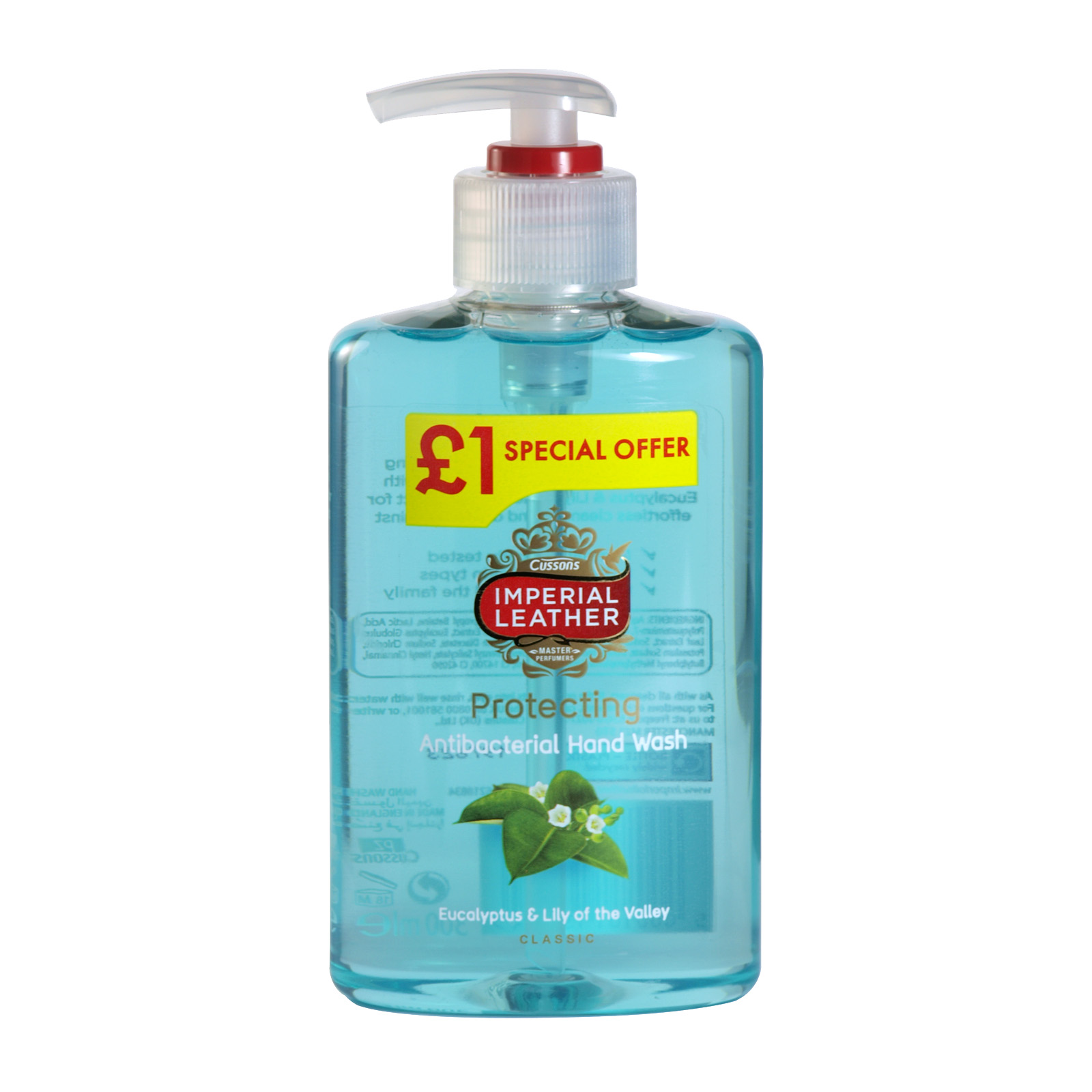 IMPERIAL LEATHER HANDWASH 300ML PROTECTING PM ?1 X6