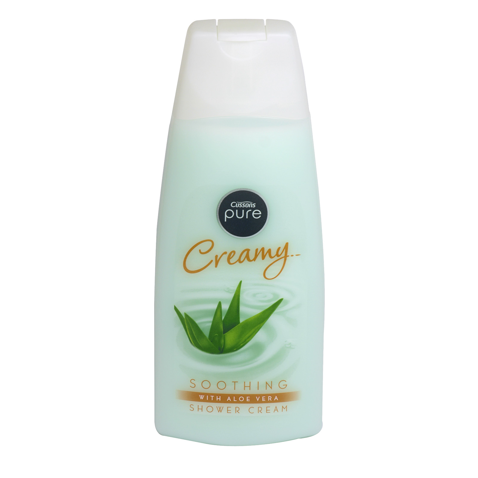 CUSSONS PURE SHOWER CREAM SOOTHING ALOE VERA X6