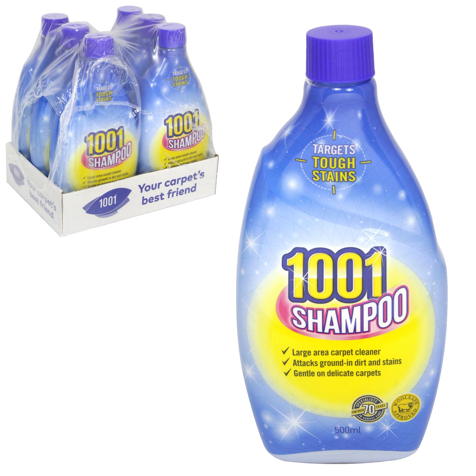 1001 CARPET SHAMPOO 500ML X6