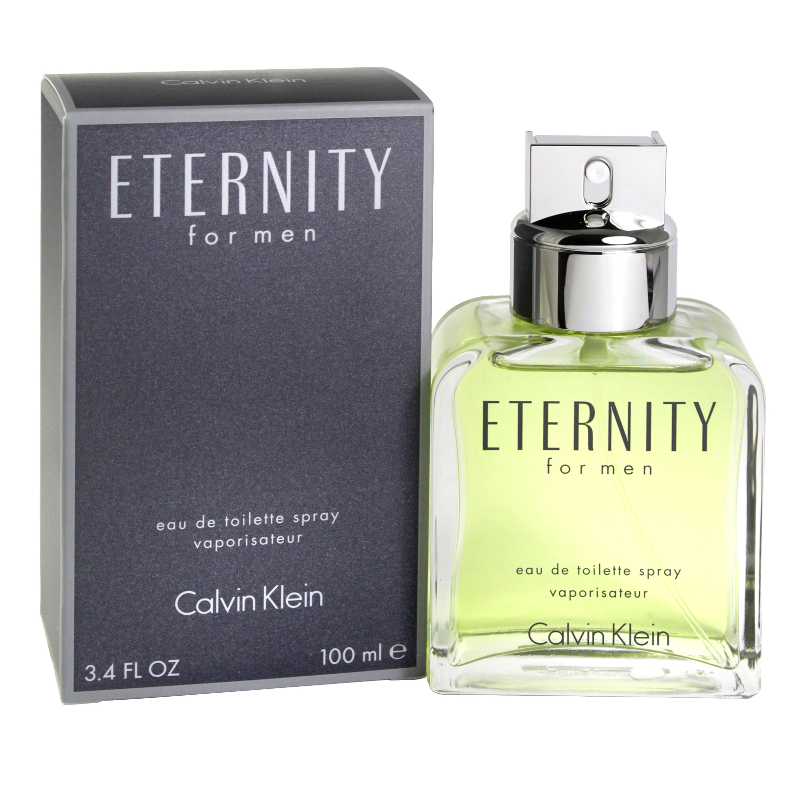 CK ETERNITY FOR MEN 100ML EDT SPRAY