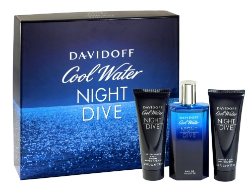 DAVIDOFF COOL WATER NIGHT DIVE MENS 3PC SET