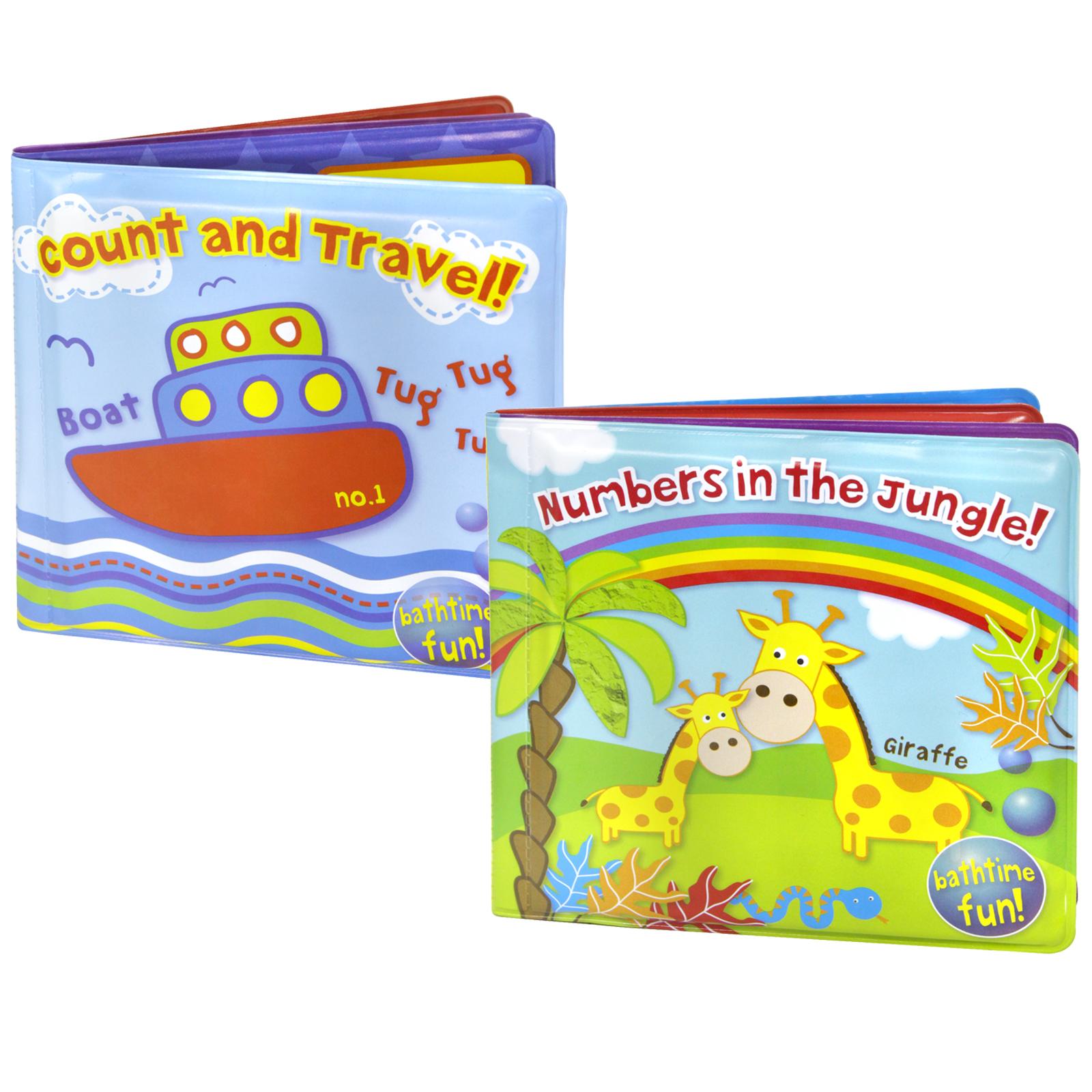 FIRST STEPS SOFT PLAY BATH BOOK 2ASS