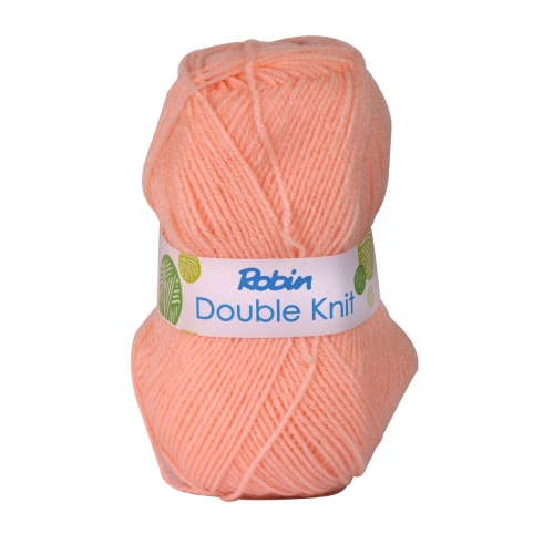 ROBIN 4032 DOUBLE KNIT WOOL WEIGHT 100GM LENGTH 300M PEACH X10