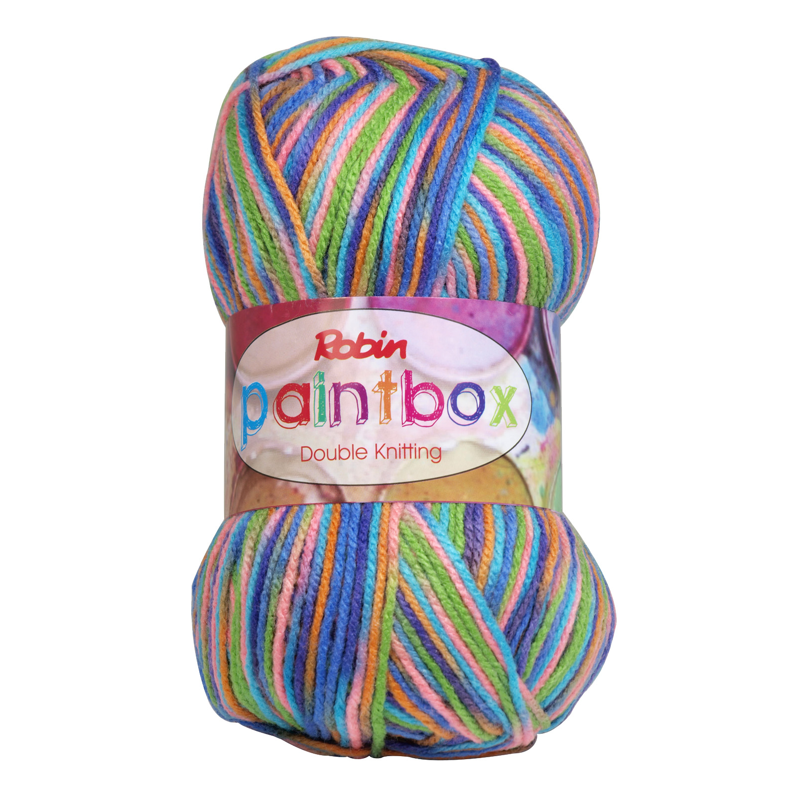 PAINTBOX 1455 DOUBLE KNIT 100GM WOOL TROPICAL X10