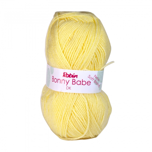 BONNY BABE 4058 DOUBLE KNIT WOOL WEIGHT 100GM LENGTH 300M LEMON X10