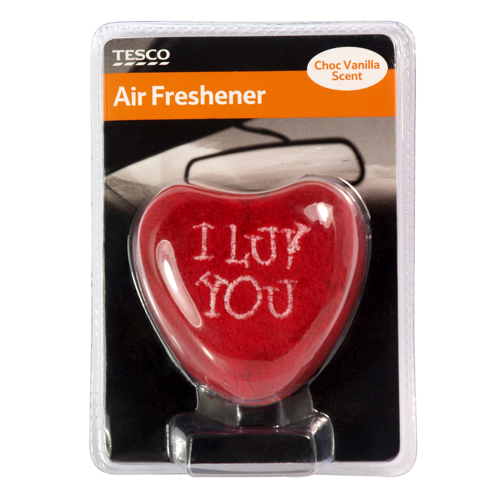 TESCO AIR FRESHENER PLUSH HEART X6