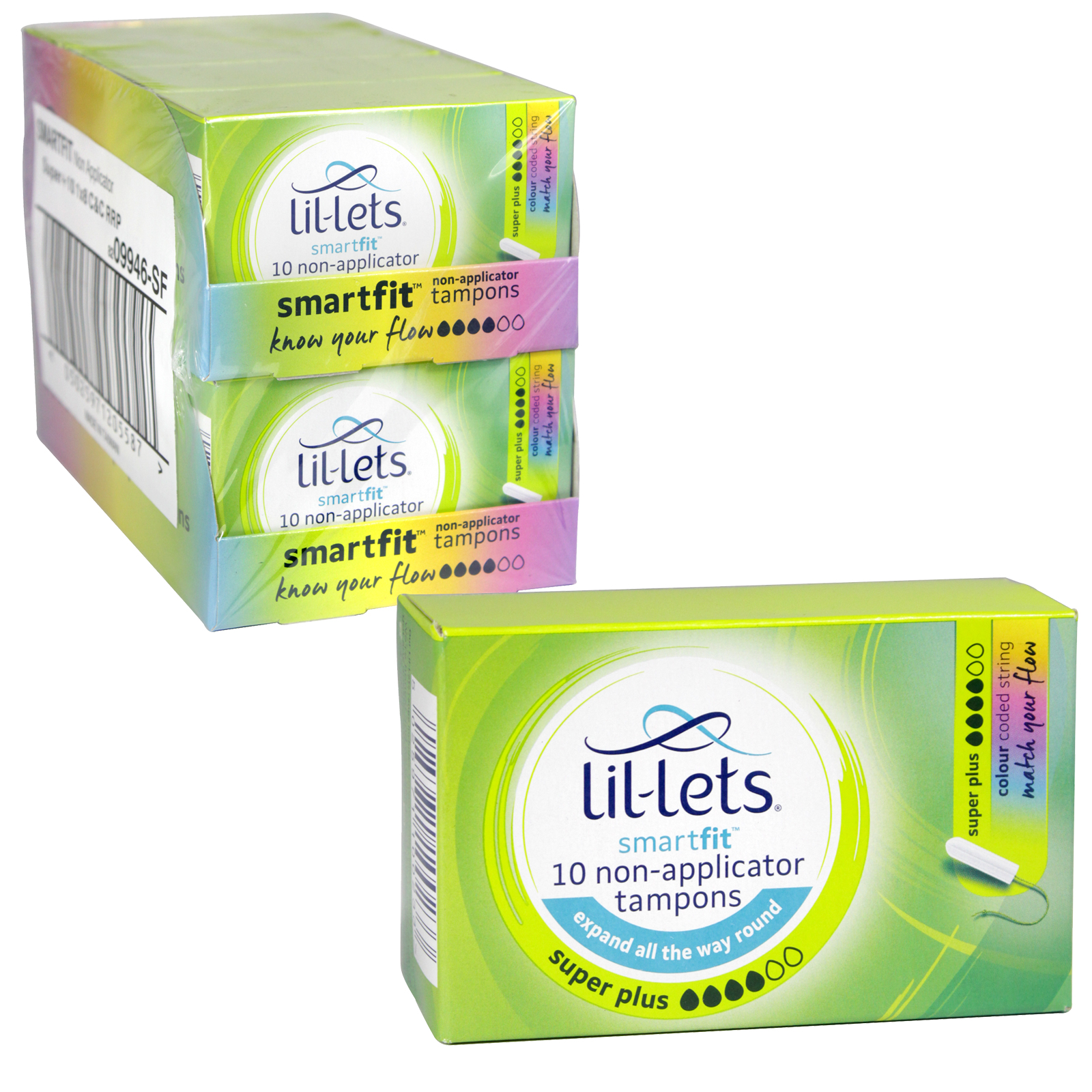 LIL-LETS DIGITAL TAMPONS 10S SUPER PLUS X8