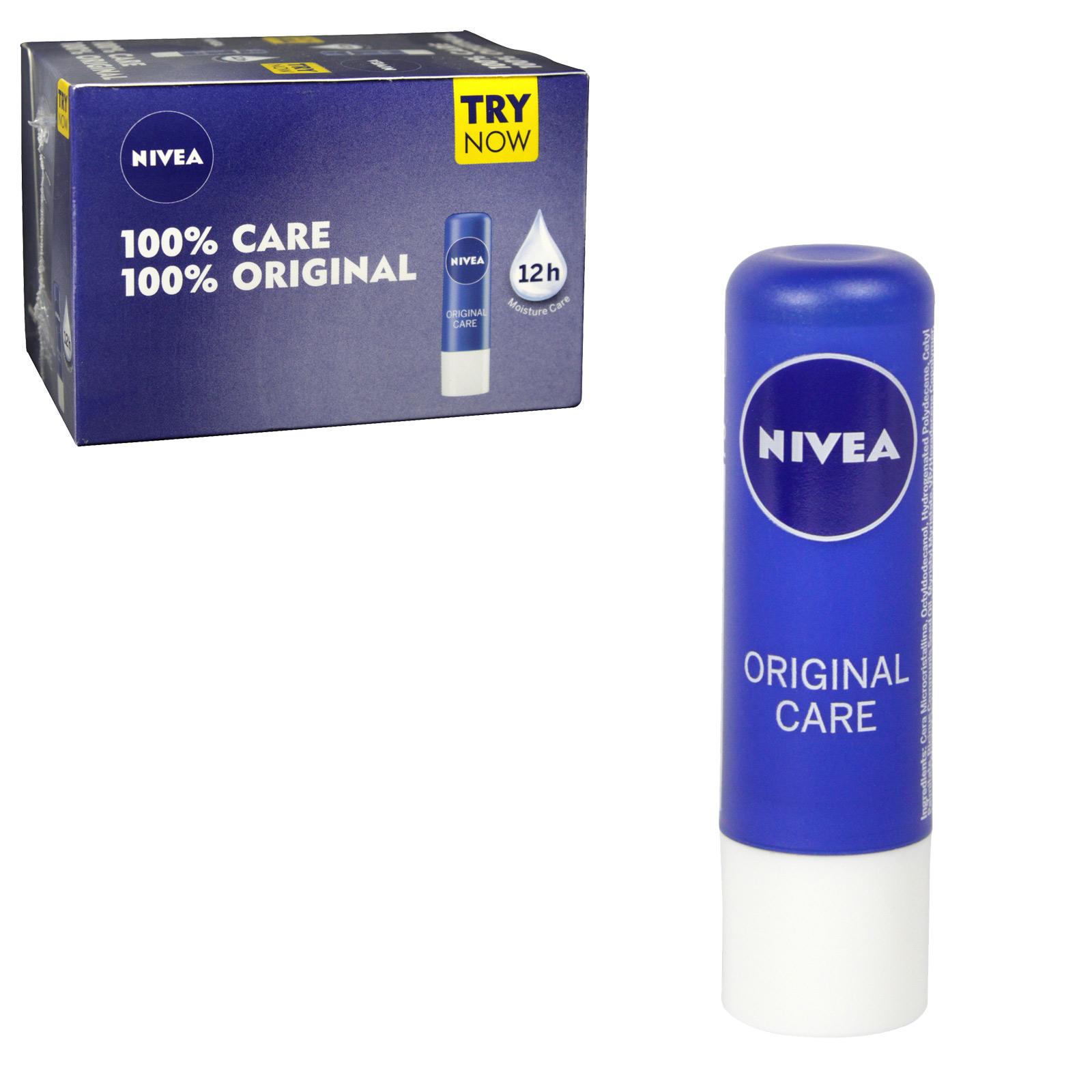 NIVEA LIP CARE ESSENTIAL X24