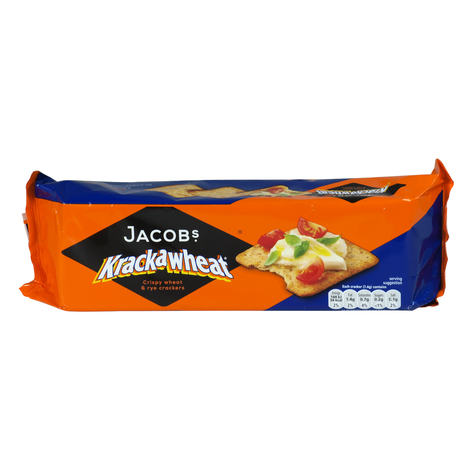 JACOBS KRAKAWHEAT 200GM X24