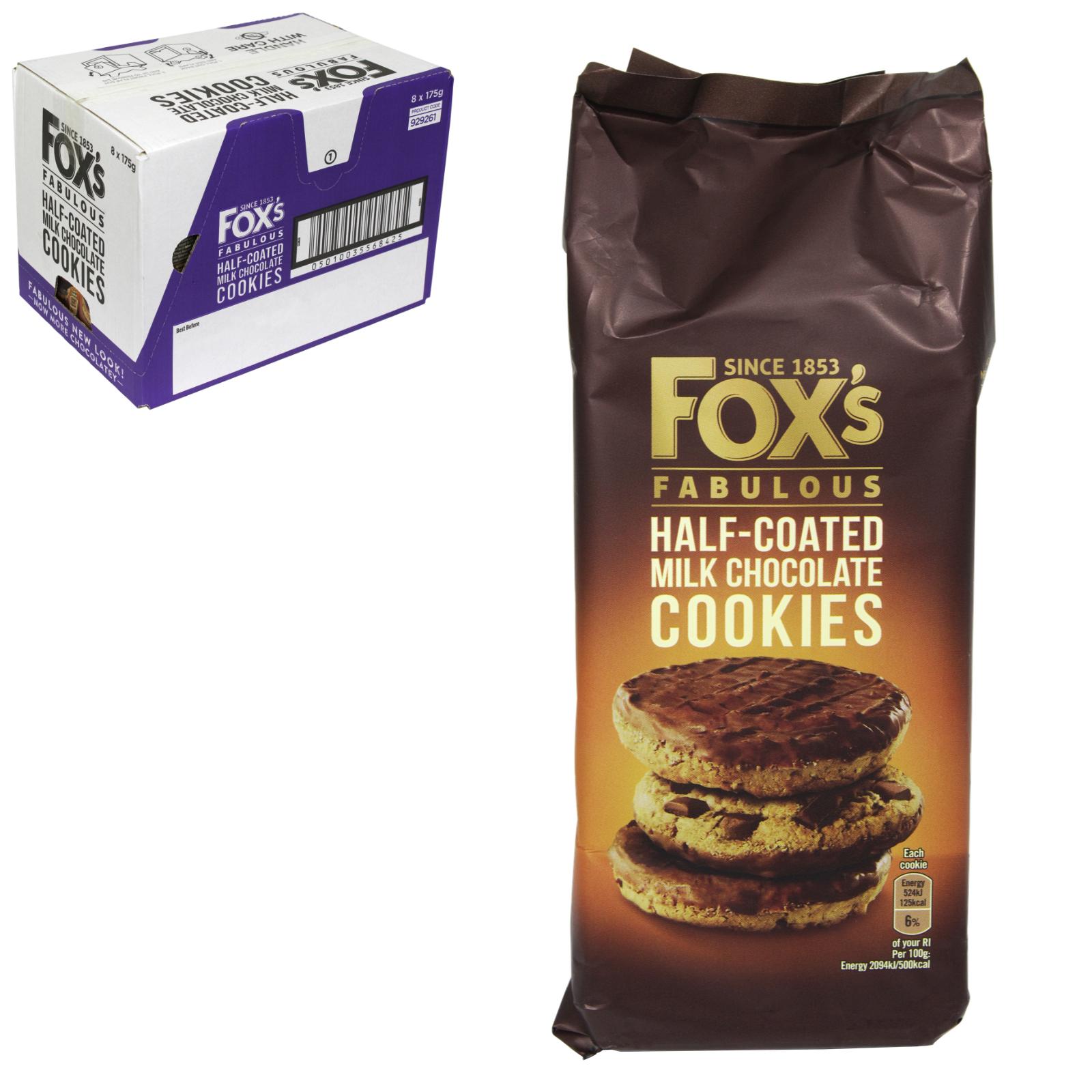 FOXS CHUNKY EXTREME CHOC COOKIES X9