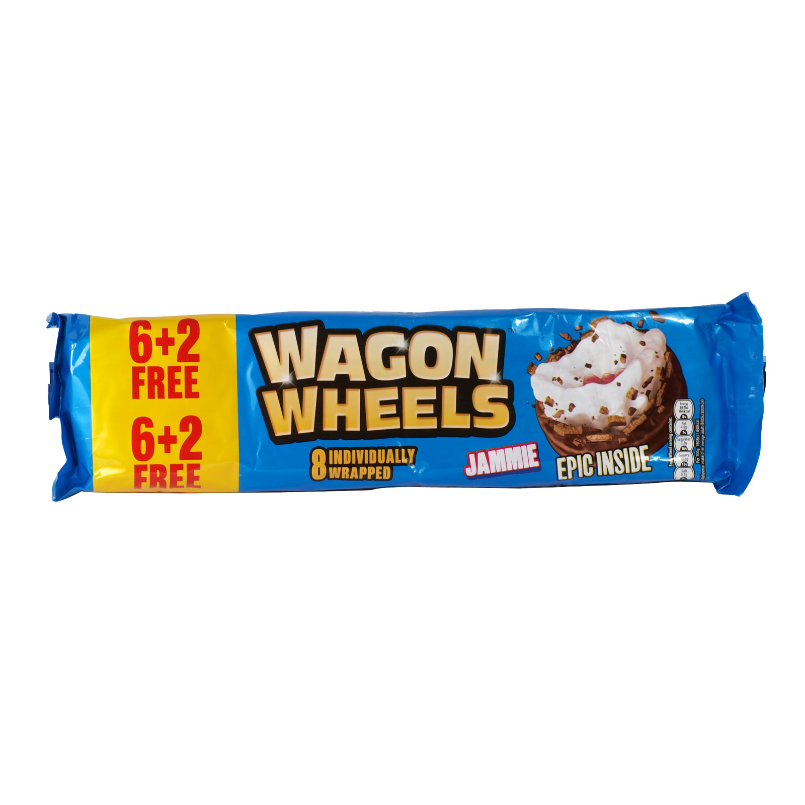 WAGON WHEELS JAMMIE 8 PACK X24