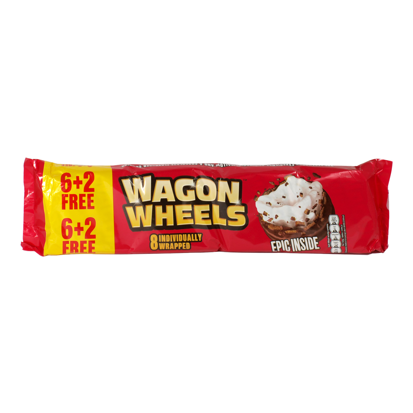 WAGON WHEELS ORIGINAL 8 PACK X18