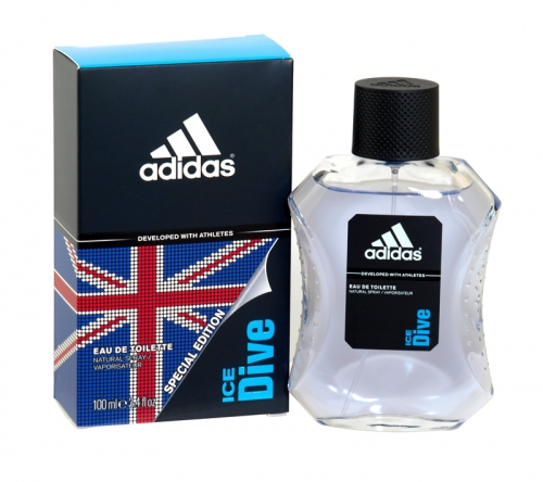 ADIDAS 100ML EDT ICE DIVE X3