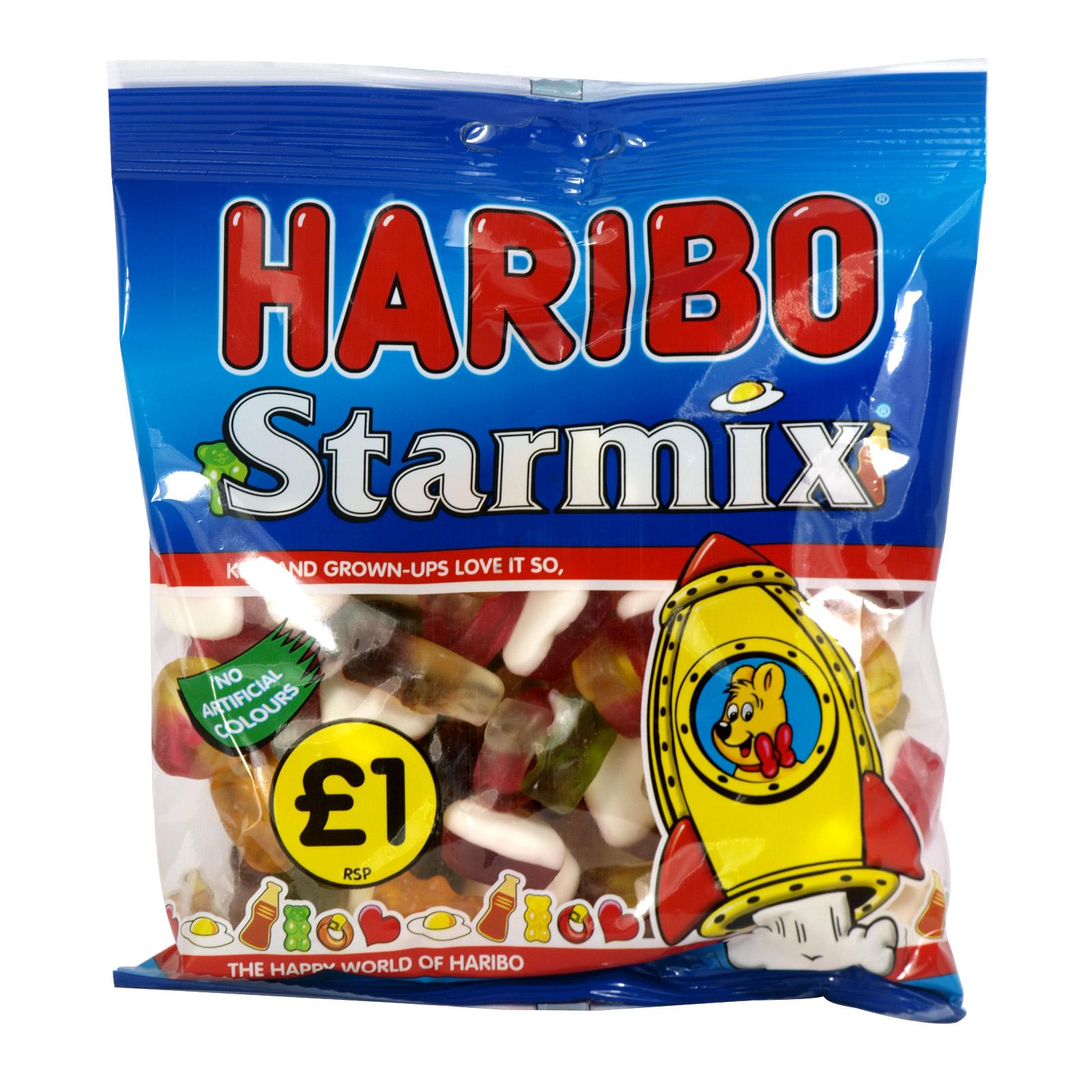 HARIBO 180GM BAGS STARMIX PM ?1 X12