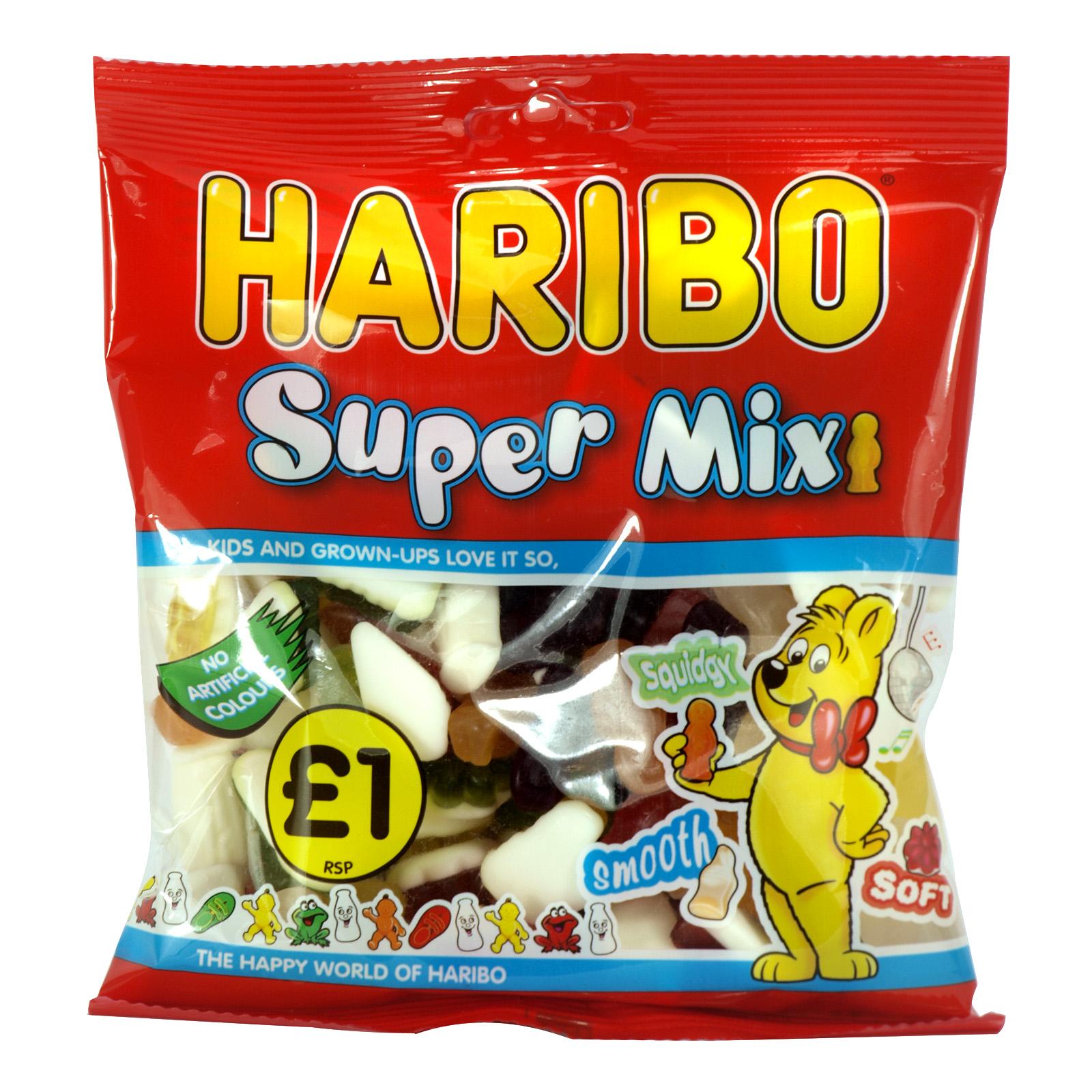 HARIBO 180GM BAGS SUPER MIX X12