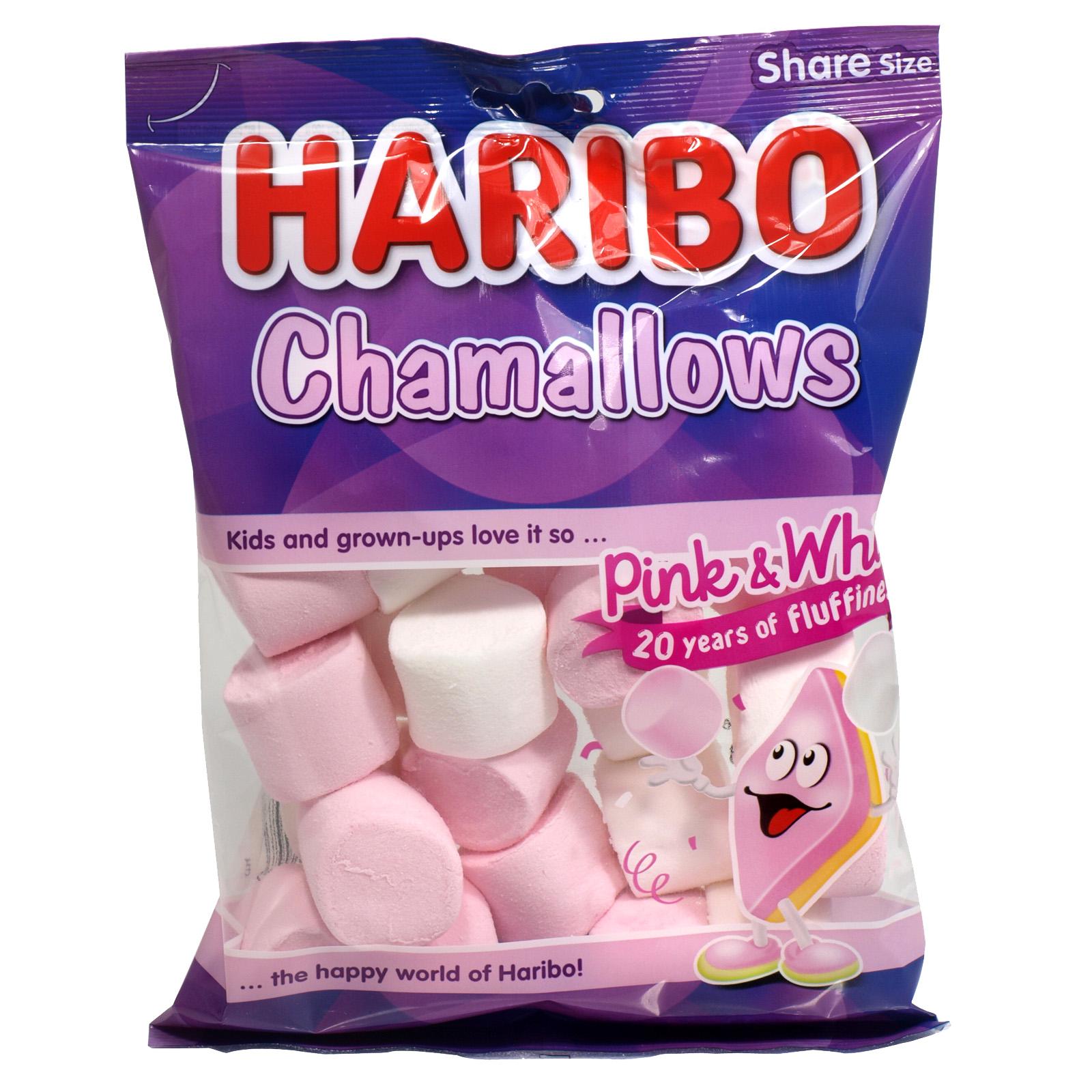 HARIBO 160GM BAGS CHARMALLOWS X12