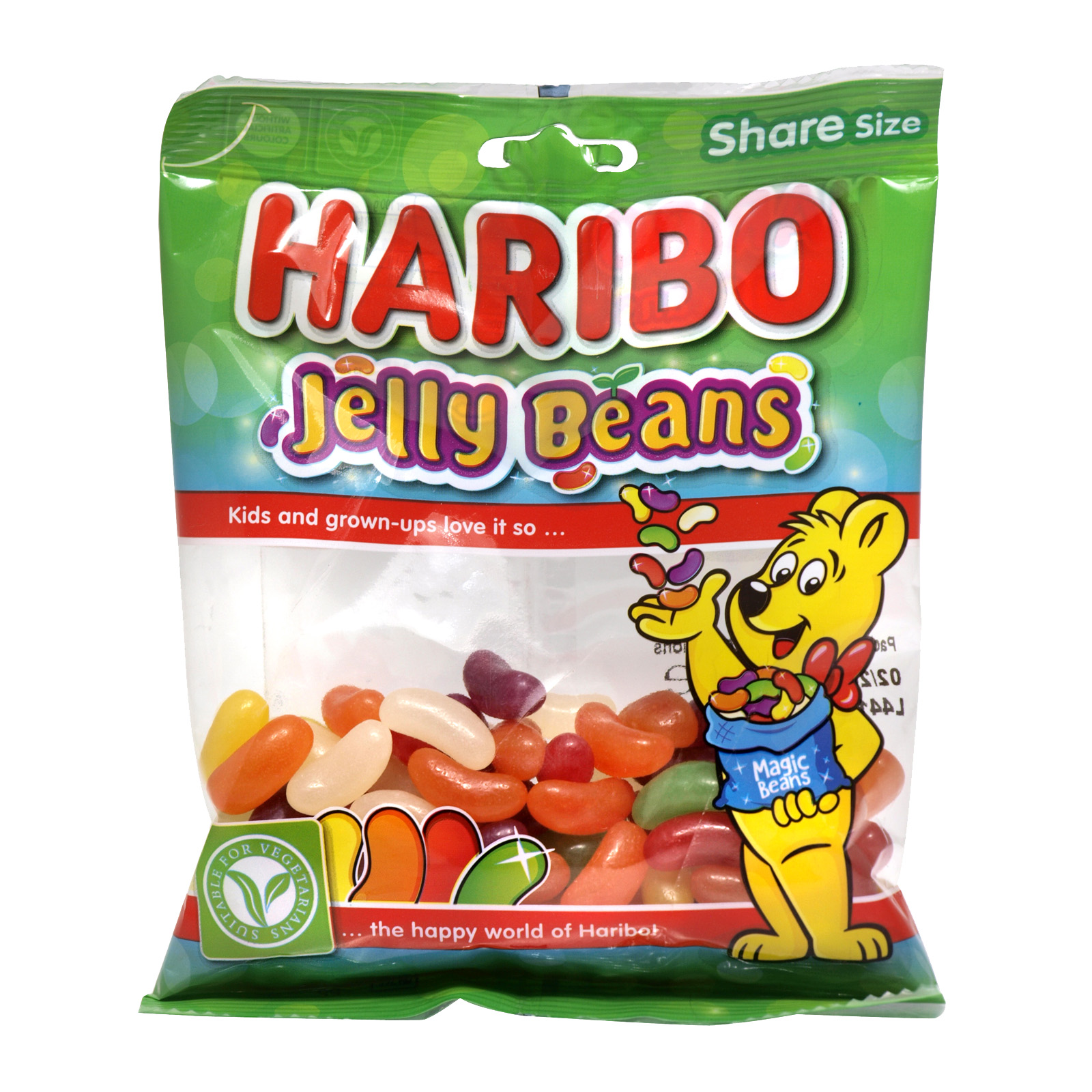 HARIBO 140GM BAGS JELLY BEANS X12