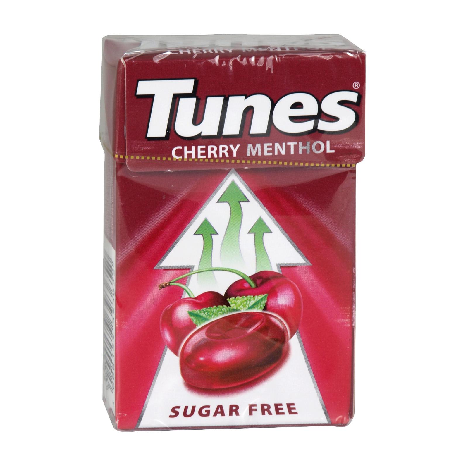 TUNES CHERRY SUGAR FREE X24